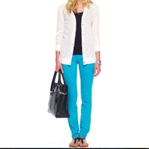 Michael Kors turquoise jeans